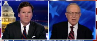 WATCH: Tucker And Alan Dershowitz Ruin James Comey's Night
