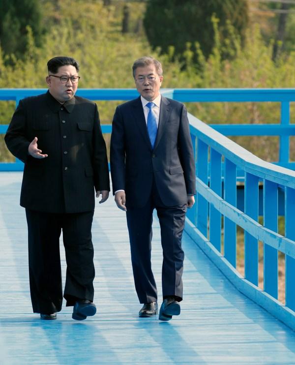 PHOTOS: Kim Jong Un, Moon Jae-in Meet At 2018 Inter-Korean ...