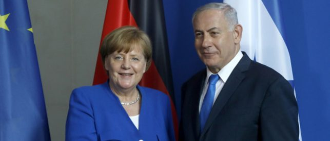 Netanyahu Warns Merkel That 'Religious War' In Syria Will Lead To Greater Influx Of Refugees