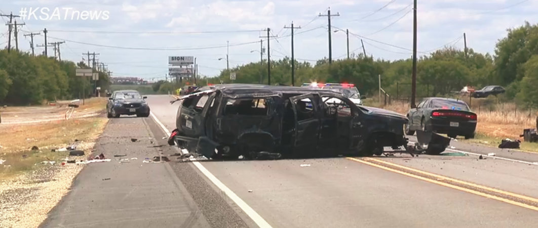 5 Killed When Suv Packed With Illegal Immigrants Crashes