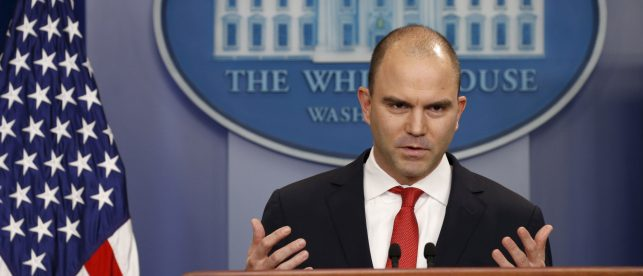 Former Obama Aide Ben Rhodes Finds New Home At MSNBC