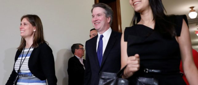 Brett Kavanaugh Has His Most Important Meeting Yet For The Supreme Court