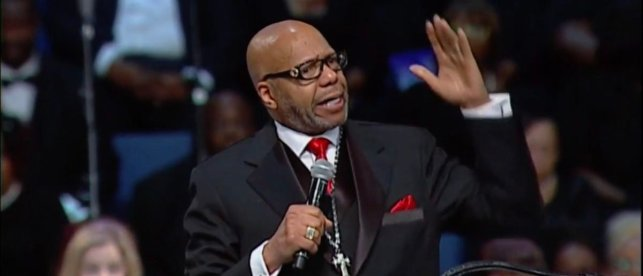 'Nobody Says Anything': Pastor Goes Off On Black-On-Black Crime At Aretha Franklin's Funeral