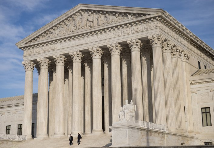 The Supreme Court as seen on January 31, 2017. (Saul Loeb/AFP/Getty Images)