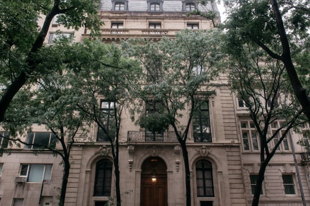 NEW YORK, NY - JULY 18: Jeffrey Epstein's residence at 9 East 71st Street in the Manhattan borough of New York on July 18, 2019 in New York City. (Scott Heins/Getty Images)