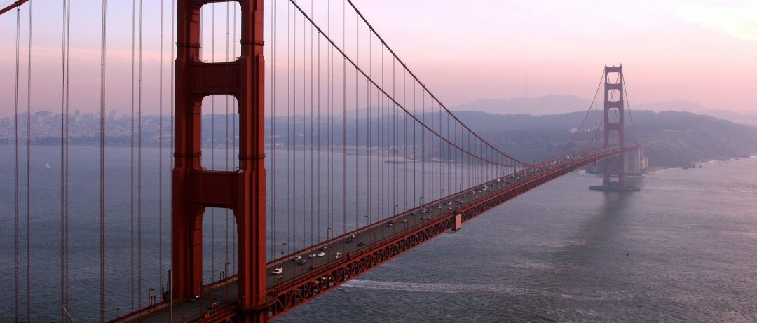San Francisco, UNITED STATES: The Golden Gate Bridge is pictured 20 December 2006 in San Francisco, California. The Golden Gate is a suspension bridge spanning the Golden Gate, the opening into San Francisco Bay from the Pacific Ocean. It connects the city of San Francisco on the northern tip of the San Francisco Peninsula to Marin County as part of US Highway 101 and California State Highway 1. The largest suspension bridge in the world when it was completed in 1937, it has become an internationally recognized symbol of San Francisco and America. It is currently the second longest suspension bridge in the United States after the Verrazano-Narrows Bridge in New York City. AFP PHOTO/GABRIEL BOUYS (Photo credit should read GABRIEL BOUYS/AFP/Getty Images)