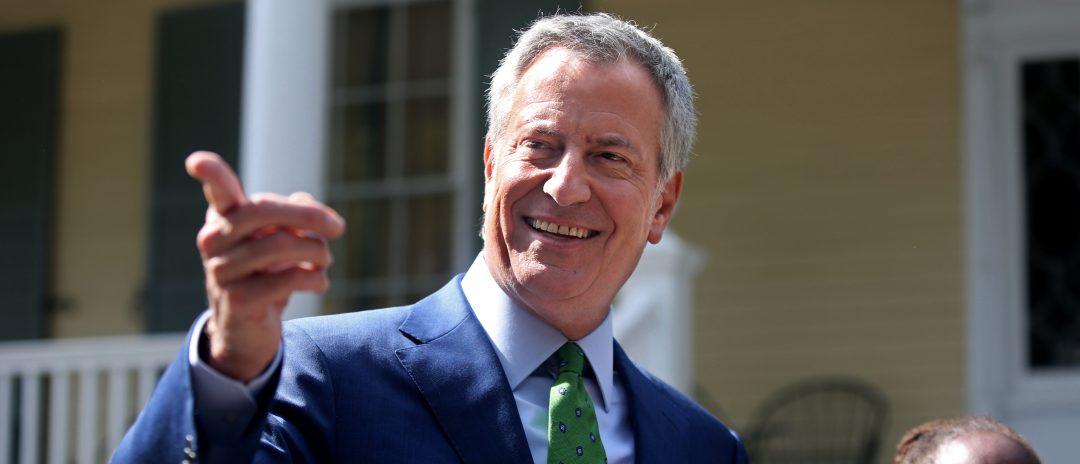 New York City Mayor Bill de Blasio Drops Out Of 2020 Presidential Race