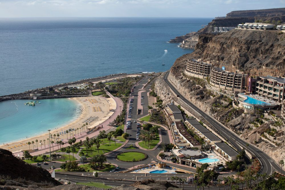 A view of Puerto Rico de Gran Canaria. (Dan Kitwood/Getty Images)