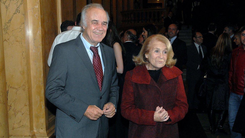 Los periodistas César Mascetti y Mónica Cahen DAnvers