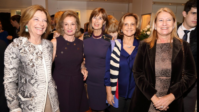 Canela von Buch, Miriam Bagó, Sonia Blaquier, Teresa Bulgheroni y María Blaquier