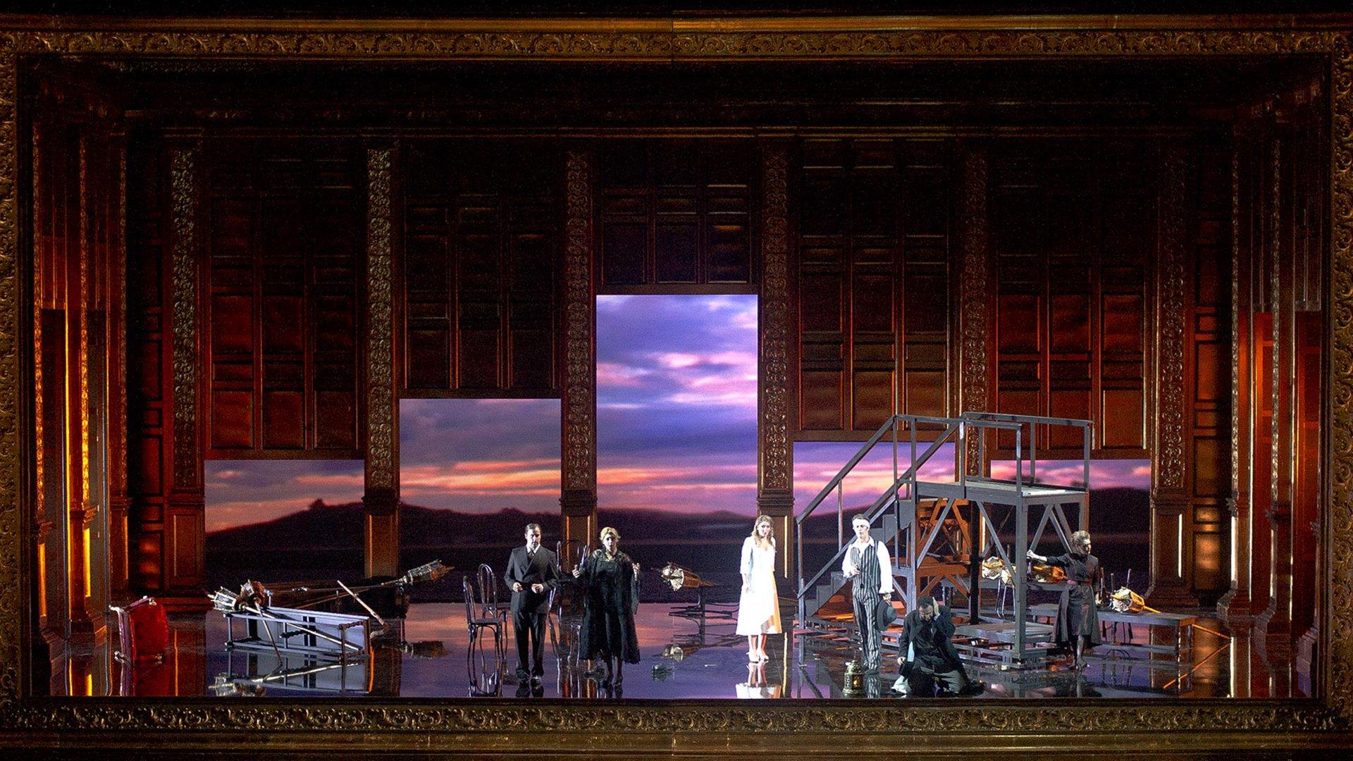 Don Giovanni se estrenó en Praga en 1787, con libreto de Lorenzo Da Ponte. Es considerada una de las grandes composiciones de Mozart