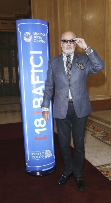 Michel Legrand fue ganador del premio Óscar en tres oportunidades y responsable de la música original de más de 200 films. en la foto, el diseñador Gino Bogani