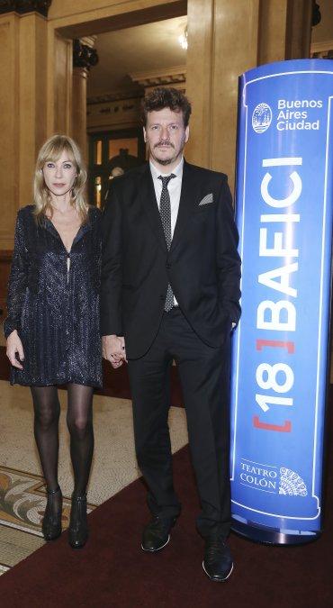 Inés Estévez y Javier Malosetti
