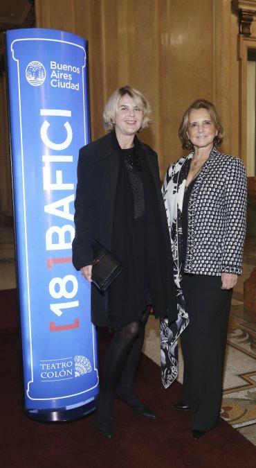 Magdalena Cordero y Teresa Bulgheroni