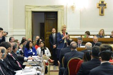 La ex top modelo Valeria Mazza fue convocada como Maestra de Ceremonia de la cumbre