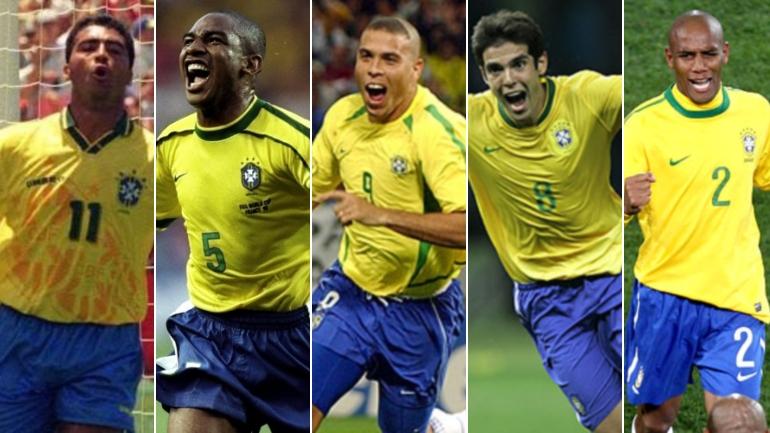 Resultado de imagen para brasil seleccion 1998