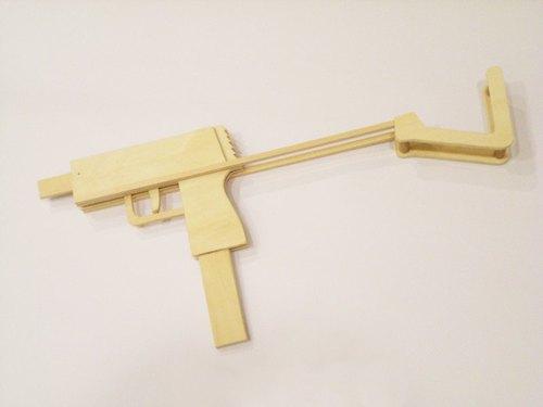 橡皮筋·橡皮·連發橡皮筋槍diy – 青蛙堂部落格