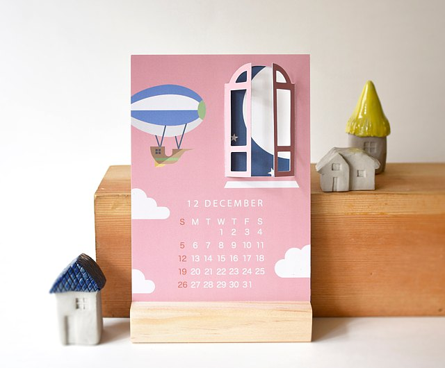 The holiday invites are pouring in. 2022 Windows Theme Deck Calendar Holiday Gift 2022 Calendar With Stand Shop Elfland174 Calendars Pinkoi