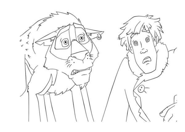 Как нарисовать иллюстрацию к сказке Иван Царевич и Серый волк?