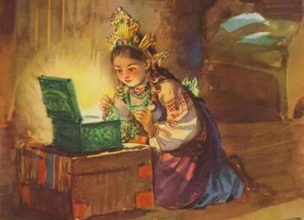 Как нарисовать сказку Бажова?