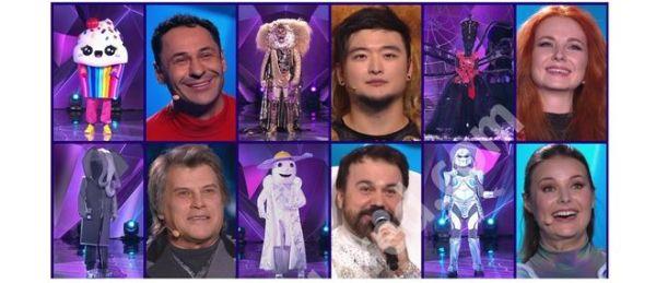 """Кем являются все 12 участников шоу """"Маска"""" на канале НТВ?"""