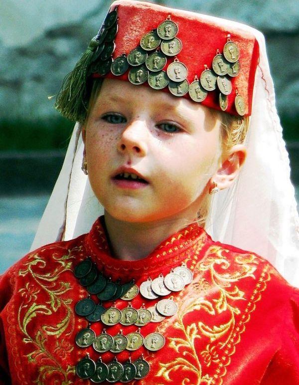 Как сшить национальный татарский костюм для девочки своими ...