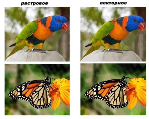 Как преобразовать растровое изображение в векторное