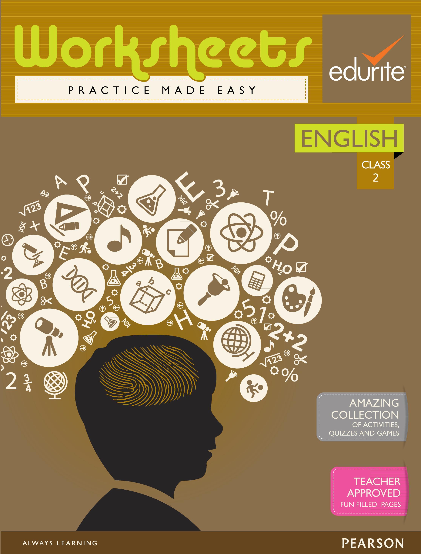 Buy Edurite Class 2 English Worksheets Book Edurite