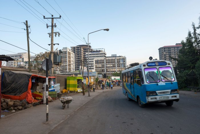 Addis Ababa is the capital city of Ethiopia. It is the largest city in Ethiopia with a population of 3.4 million. (Photo from March 2014) | usage worldwide Photo by: Yannick Tylle/picture-alliance/dpa/AP Images