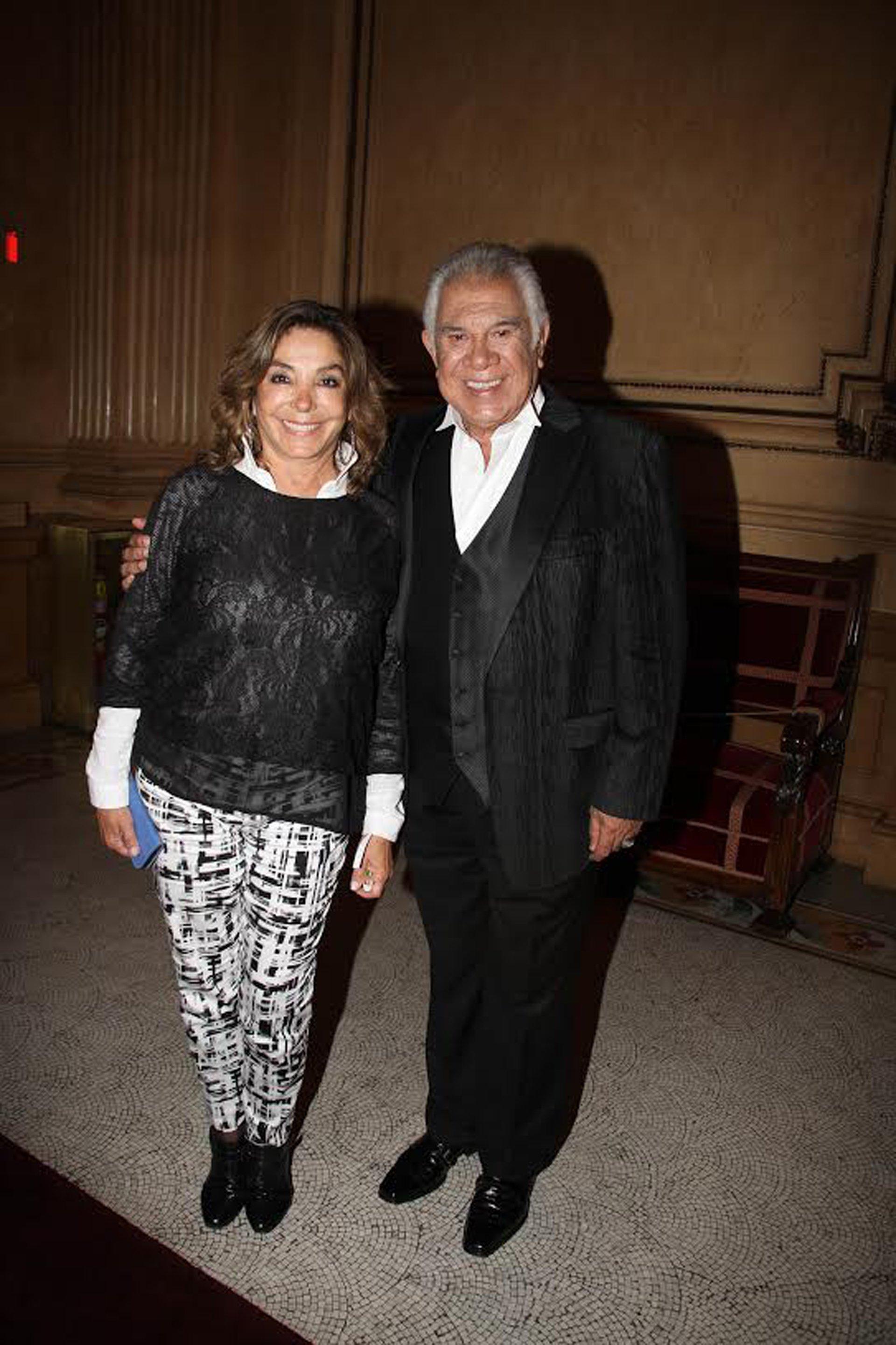 Raúl Lavié y su mujer Laura