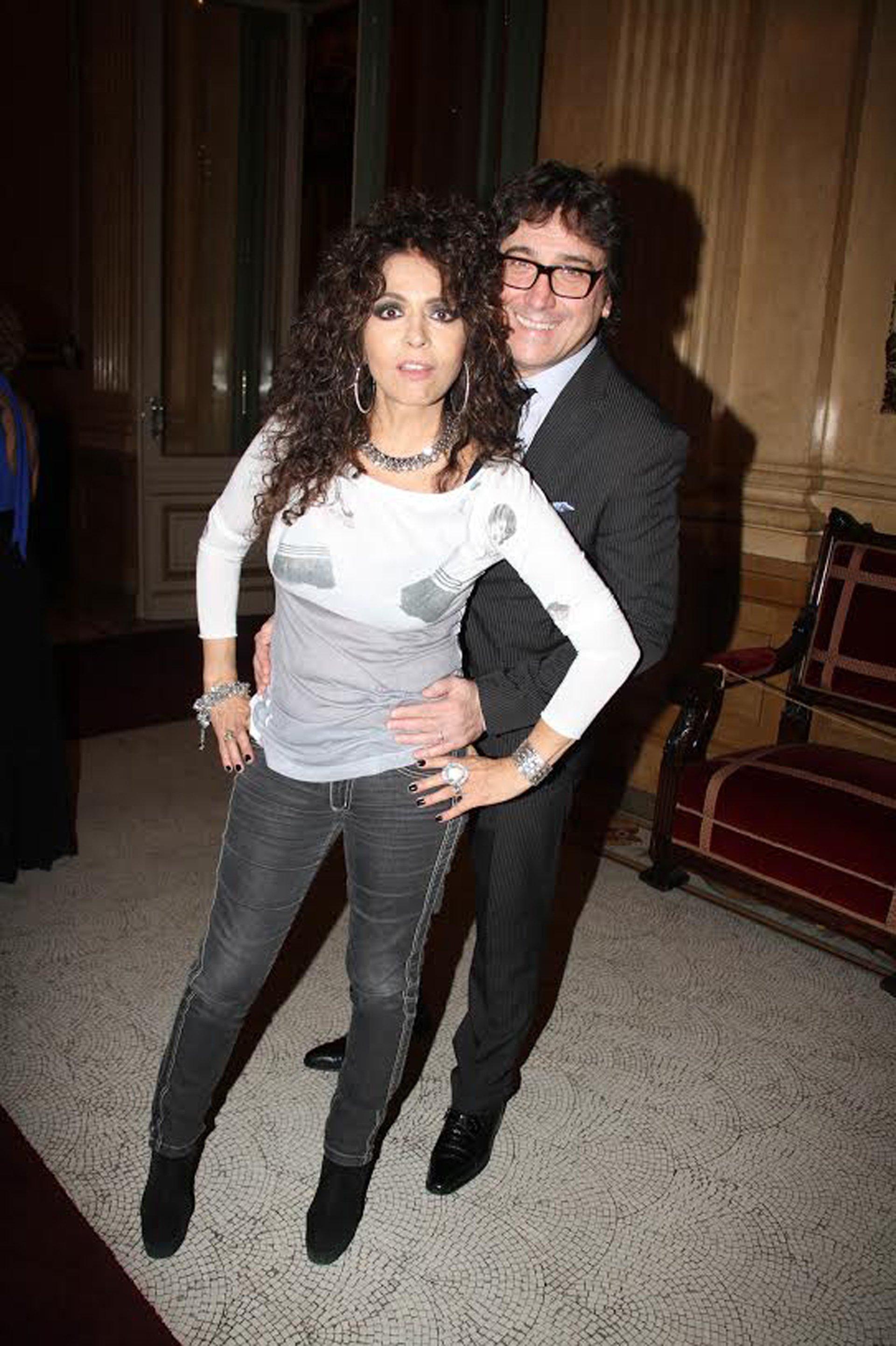 Patricia Sosa y Oscar Mediavilla