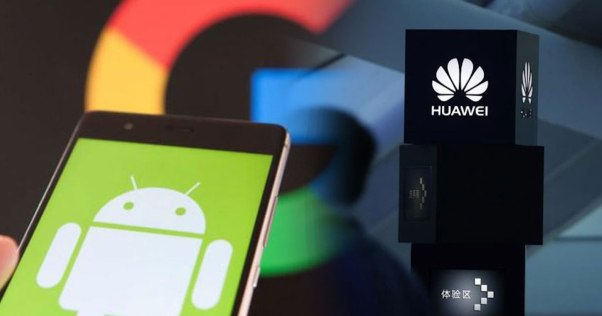 Image result for Huawei vs Google Android
