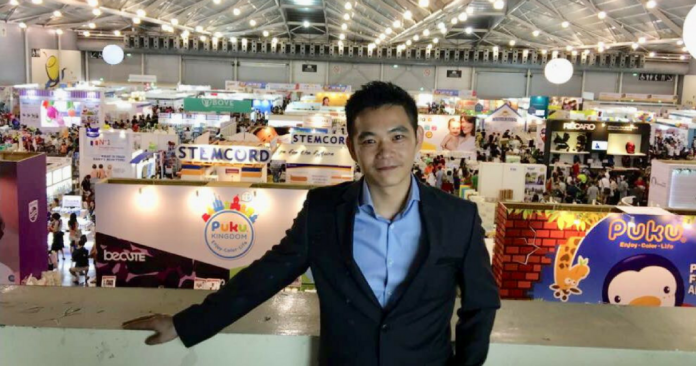 William Chin, founder and CEO of Mummys Market
