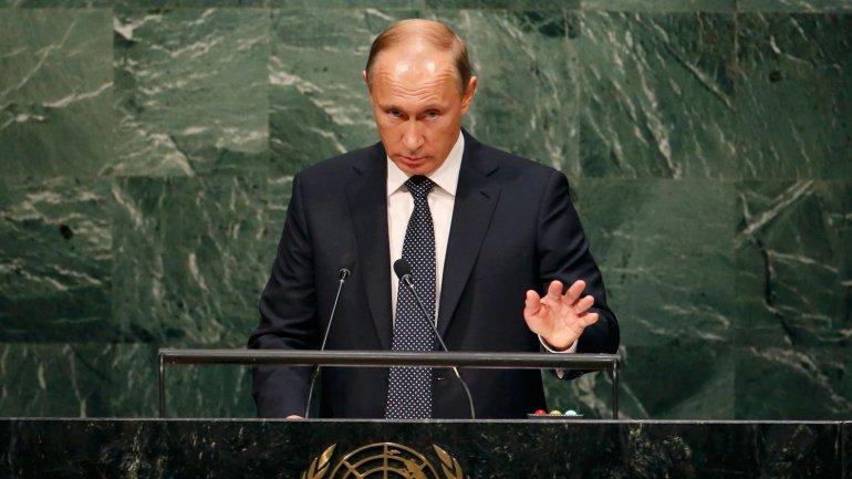El presidente de Rusia, Vladimir Putin, habla ante la Asamblea General de la ONU