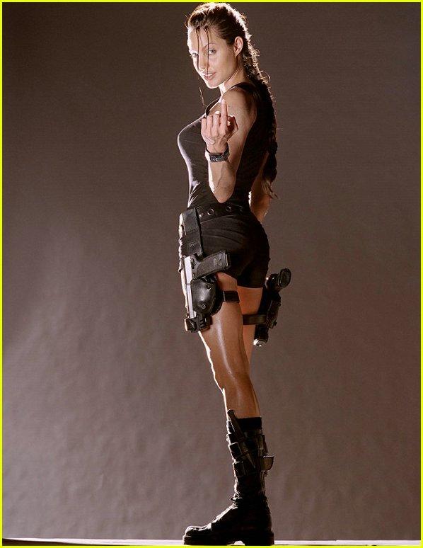 Angelina Jolie Lara Croft: Tomb Raider sexy