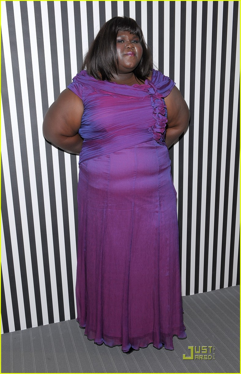 Gabourey Sibide Is Purplicious Pretty Photo 2365121