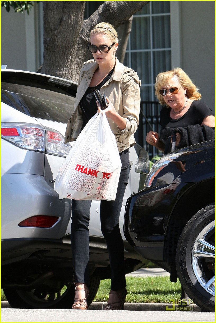 Charlize Theron Food With Friends And Family Photo