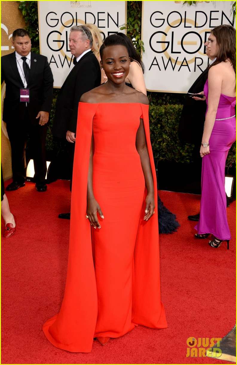 Lupita Nyong'o | Golden Globes 2013 Best Dressed | The 1000th Voice blog
