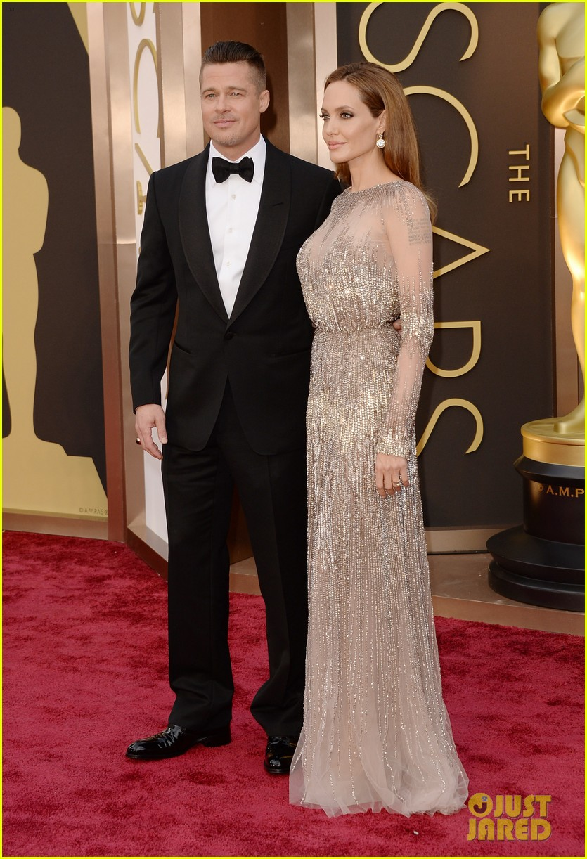 Brad Pitt & Angelina Jolie: 2014 Oscar's Best Dressed List | The 1000th Voice