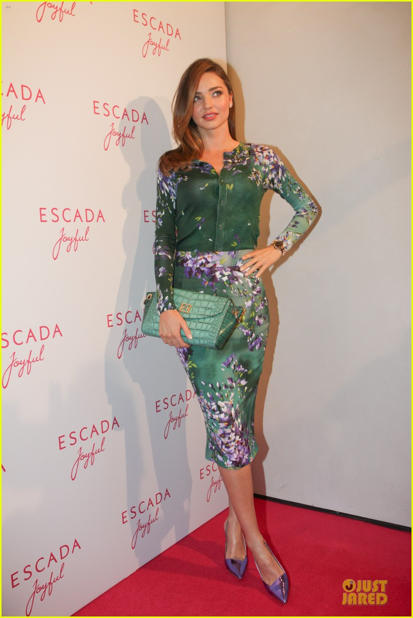 Escada Perfume Miranda Kerr