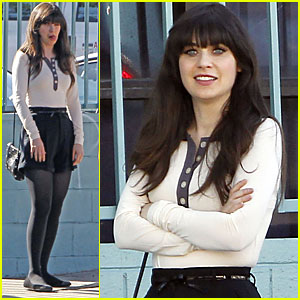 Zooey Deschanel President Obama Sent Birthday Wishes Zooey Deschanel Just Jared