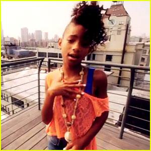 Willow Smith Do It Like Me Rockstar Video Premiere