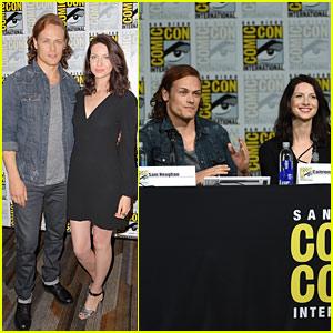 'Outlander' Fans Get A Sneak Peek At Season 2 at Comic-Con
