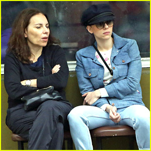 Scarlett Johansson Spends Time with Her Mom on MLK Day