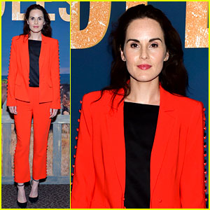 Michelle Dockery Promotes Her Emmy-Nominated Work in Netflix's 'Godless'