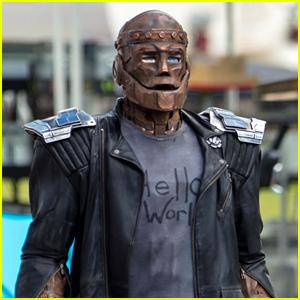Robotman Films on 'Doom Patrol' Set in More First Look Photos!
