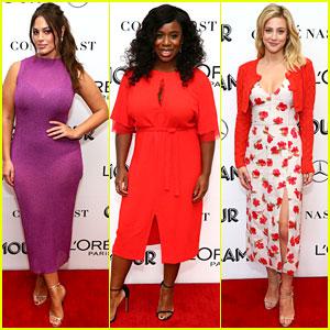 Ashley Graham, Uzo Aduba & Lili Reinhart Attend Glamour Women of the Year Summit