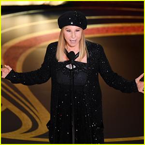 Barbra Streisand Introduces 'BlacKkKlansman' During Best Picture Segment at Oscars 2019!