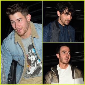 The Jonas Brothers Enjoy a Night Out in London!