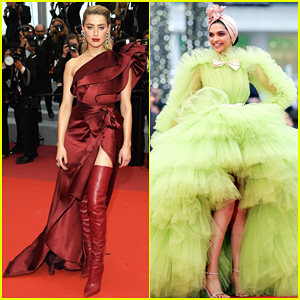 Amber Heard & Deepika Padukone Stun at 'Pain and Glory' Cannes Premiere!